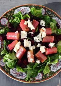 rhubabr-salad