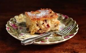rhubarb-ginger-cake
