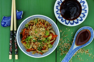 ANXIETY, MOOD FOOD AND CHINESE 'SPAG BOG'