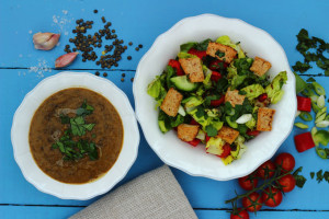 BOOSTING IMMUNITY FOR 2015, SOUP AND A SALAD