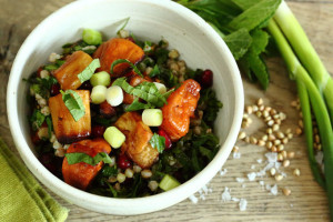 A BLUEPRINT FOR AGEING WELL AND BUCKWHEAT TABBOULEH