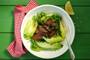 THINNING AGEING HAIR – WARM CHICKEN LIVER SALAD