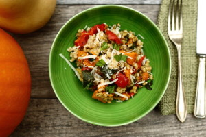 barley risotto, wheat free, vegetarian, dinner