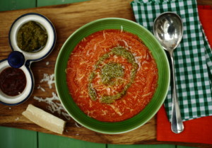 CARING, DEMENTIA AND TOMATO SOUP