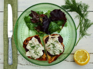 HOW TO BE CALM – SMOKED MACKEREL BRUSCHETTA
