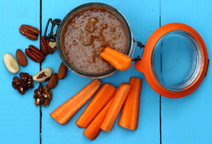 WHY WE ARE NUTS ABOUT NUTS – AND A RECIPE FOR ALMOND-GINGER DIPPING SAUCE