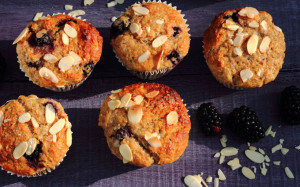 BOOST YOUR BRAIN HEALTH – BEST-EVER BLACKBERRY MUFFINS