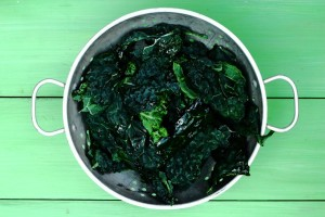 PERFECT VEGETABLES: THE KALE AND COCOA VEG SAUTE