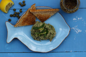 WHY EATING WELL NEEDN'T COST A FORTUNE – SARDINE AND WATERCRESS PÂTÉ