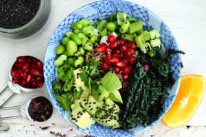 HEALTHY AGEING RESOLUTIONS – KALE & BLACK SESAME RICE BOWL