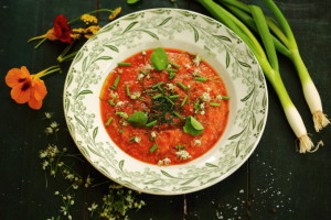 FOODS FOR BREAST CANCER – EASY-PEASY GAZPACHO