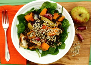 WHY WE SHOULD SIT LESS AND FIDGET MORE – WARM SQUASH SALAD