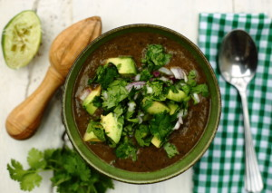 EAT BEANS EVERY DAY & BEST EVER BLACK BEAN SOUP