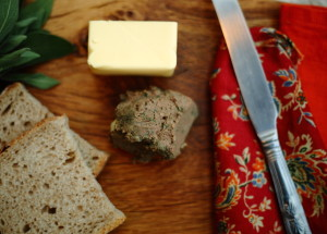 REINVENTION AND CHICKEN LIVER PATÉ