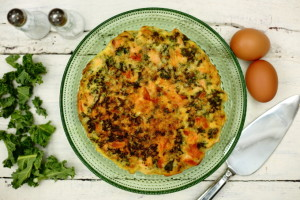 THE REAL TRUTH ABOUT DEMENTIA, HEALTHY EATING AND KALE & SALMON FRITTATA