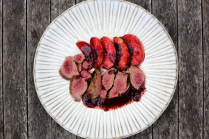 THE POWER OF A NAP & VENISON WITH BLACKBERRY AND APPLE SAUCE