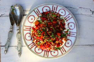 WHY 'INFLAMM-AGEING' COULD START IN THE GUT AND HARISSA-ROASTED VEGETABLE SALAD