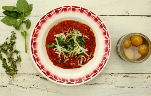 HOW TO COMBAT AIR POLLUTION & LENTILS IN A LEMON AND TOMATO SAUCE