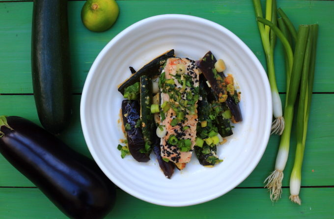 HOW TO CREATE A BODY THAT REPELS CANCER & MISO SALMON TRAY BAKE