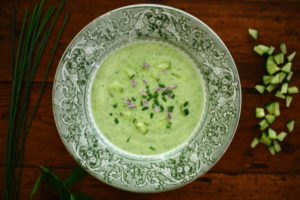 FINDING THE SWEET SPOT – CUCUMBER SOUP