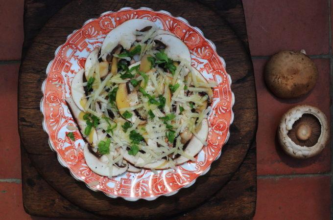EAT MORE MUSHROOMS: ITALIAN MUSHROOM SALAD
